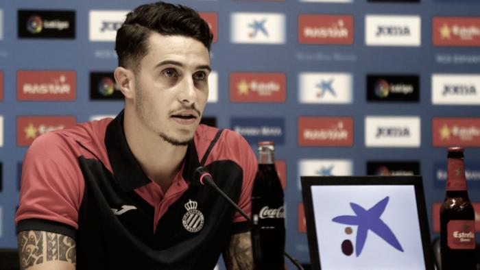 """Mario Hermoso: """"Nadie empezó jugando en Primera"""""""