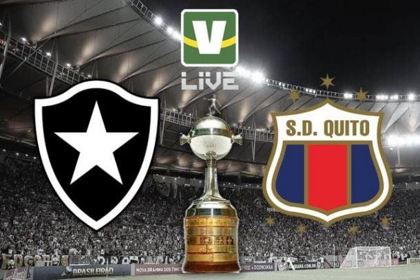 Botafogo x Deportivo Quito, Copa Libertadores ao vivo online