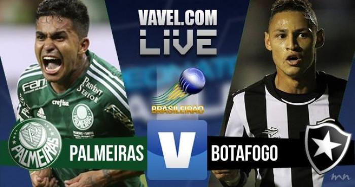 Resultado Palmeiras x Botafogo no Campeonato Brasileiro 2016 (1-0)