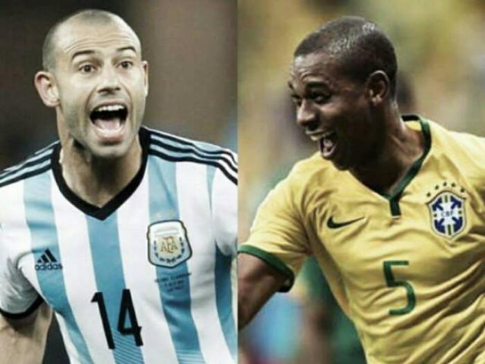 Cara a Cara:Mascherano vs Fernandinho