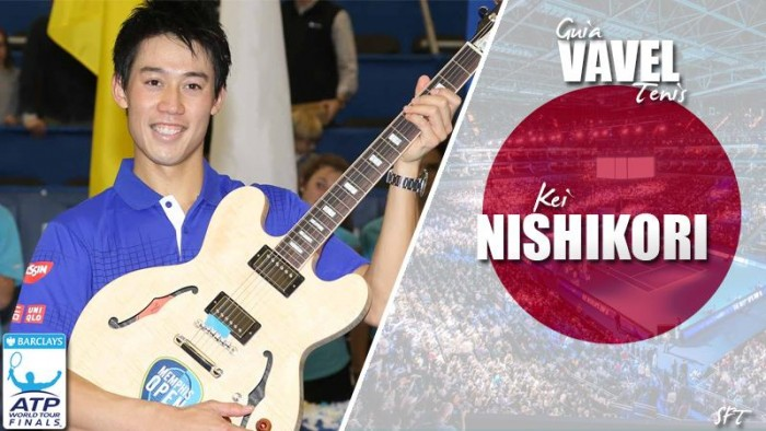 ATP World Tour Finals 2016. Kei Nishikori, el sensei