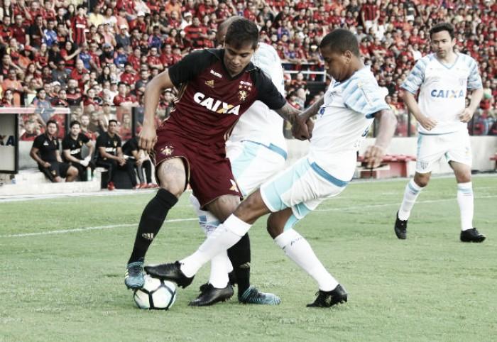 Everton Felipe tem lesão no joelho confirmada e desfalca Sport por até oito meses