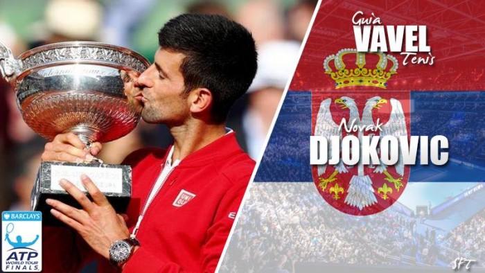 ATP World Tour Finals 2016. Novak Djokovic, el retador