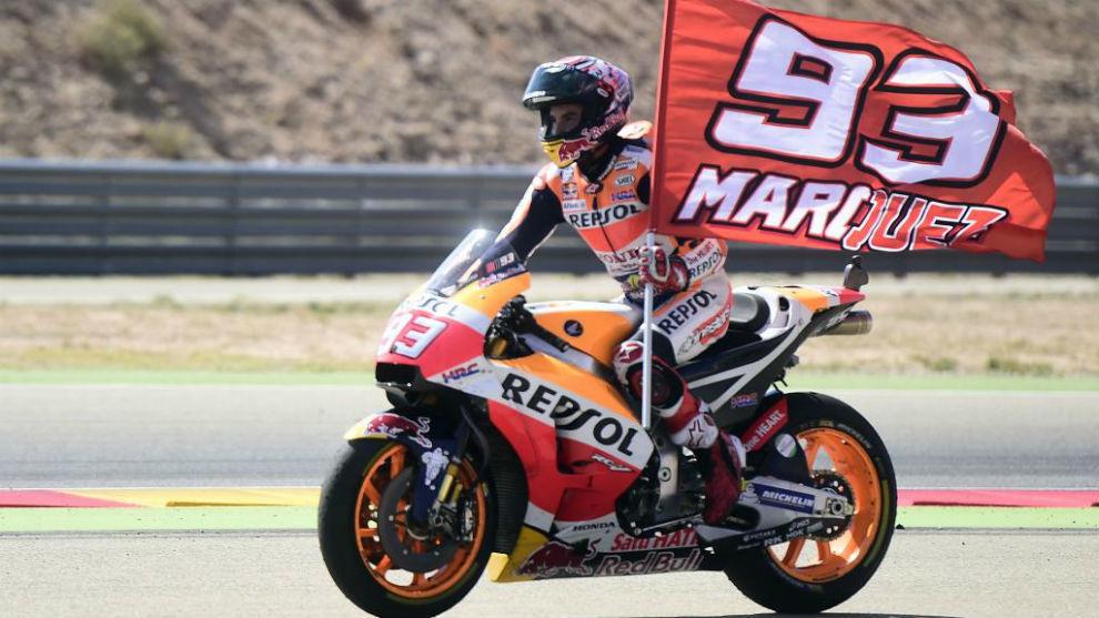Marc Márquez GP Aragón 2017: Foto: MotoGP.com