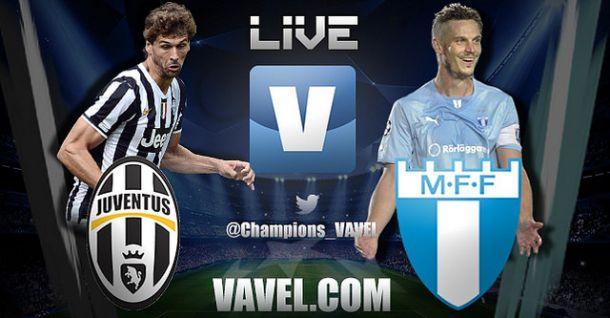 Juventus vs Malmö, Champions League en vivo y en directo online