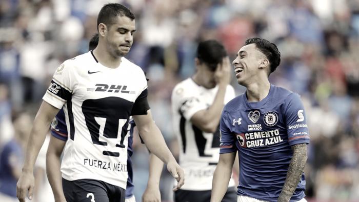 Pumas cae por goleada contra Cruz Azul y se hunde en la general