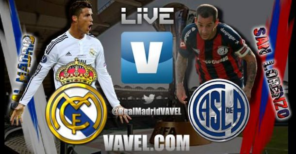 Live Real Madrid - San Lorenzo, la finale de la Coupe du Monde des clubs 2014 en direct