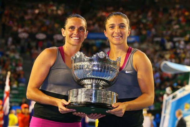 Australian Open: Errani e Vinci trionfano ancora nel doppio