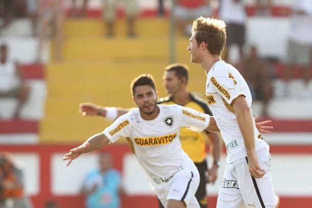 Na estreia de Ronny, Botafogo joga bem e vence o Bonsucesso