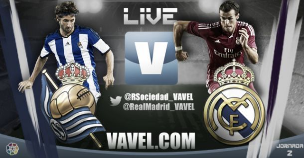 Live Liga BBVA : le match Real Sociedad - Real Madrid en direct