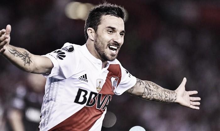 Scocco: ''Un gol siempre te da confianza''