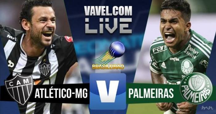 Resultado Atlético-MG x Palmeiras no Campeonato Brasileiro (1-1)