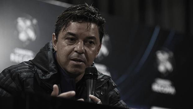 Gallardo lamenta derrota e enaltece orgulho de jogadores do River Palte