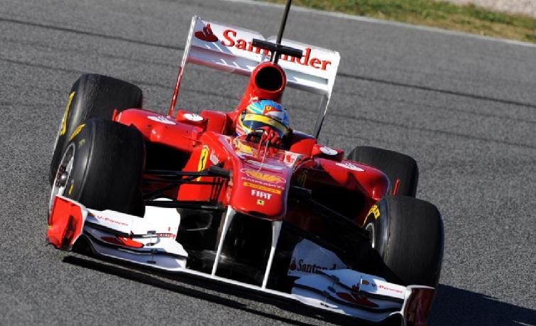Ferrari pasa los 'crash-test' impuestos por la FIA