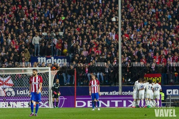 Cristiano Ronaldo marca três, Real bate Atlético e abre vantagem na liderança