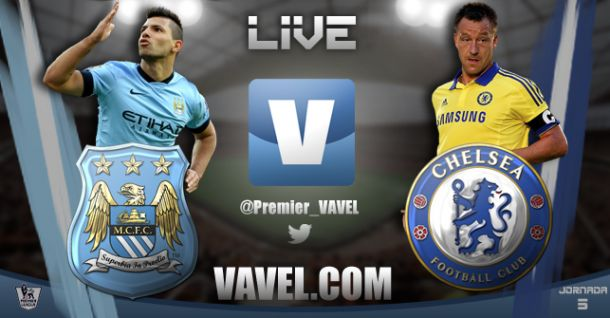 Live Manchester City - Chelsea in Premier League