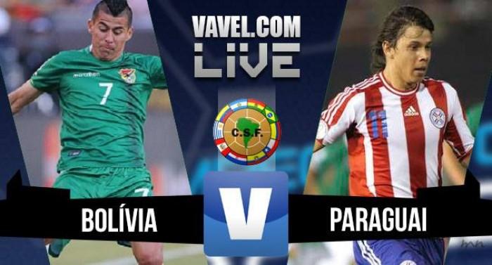 Resultado Bolívia x Paraguai pelas Eliminatórias da Copa 2018 (1-0)