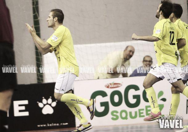 Solano jugará el resto de la temporada en el Jaén FS