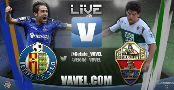 Getafe vs Elche en vivo y en directo online