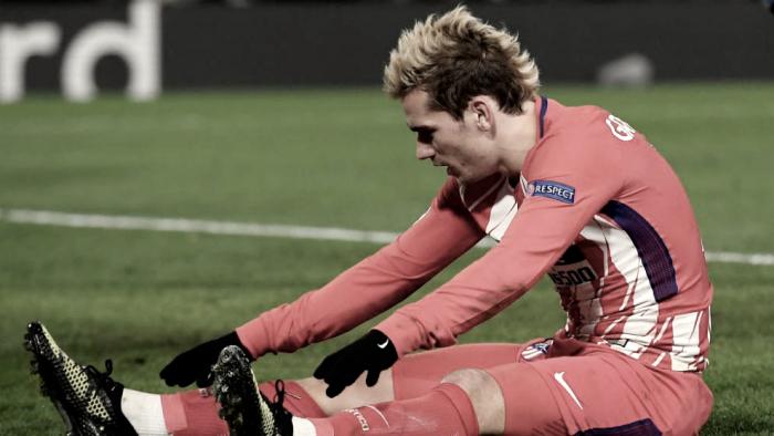 Lo que pierde el Atlético con la lesión de Griezmann