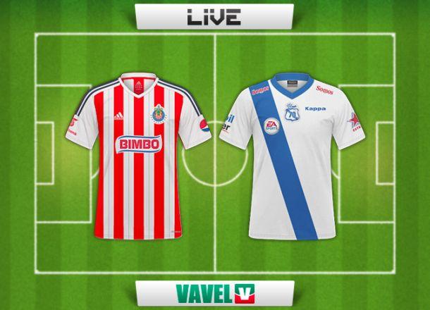 Resultado Chivas - Puebla en Liga MX 2014 (0-0)