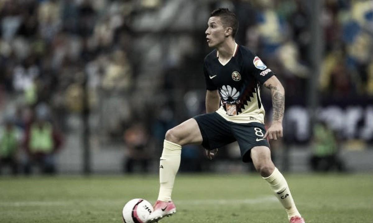 """Mateus Uribe: """"No es fácil jugar con 10 hombres y menos ante un rival como Toluca"""""""