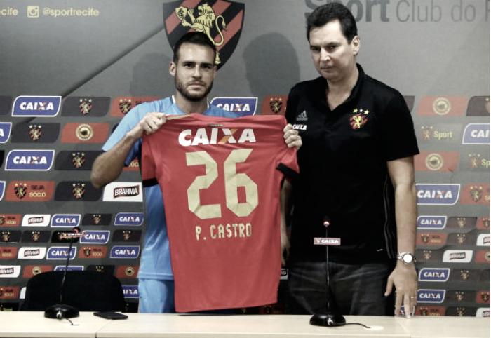"""Pedro Castro exalta grandeza do Sport em apresentação: """"Essa camisa tem um peso enorme"""""""
