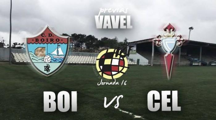 CD Boiro - Celta de Vigo 'B': licencia para soñar