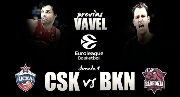 Previa CSKA Moscú-Baskonia: comienzan los 'playoffs'