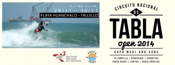 Vania Torres y Juninho Urcia, vencedores en Huanchaco