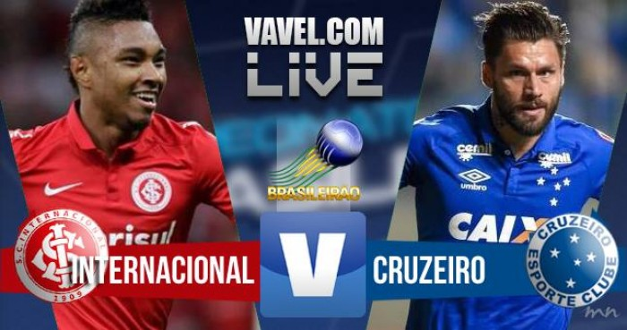 Resultado Inter x Cruzeiro pelo Campeonato Brasileiro 2016 (1-0)