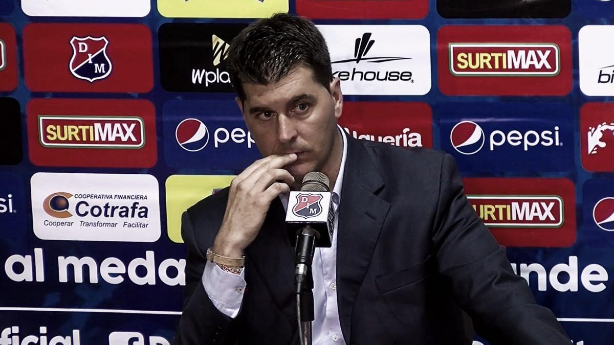 """Ismael Rescalvo: """"El fútbol cuenta los goles y hoy no hemos sido capaz de hacerlos"""""""
