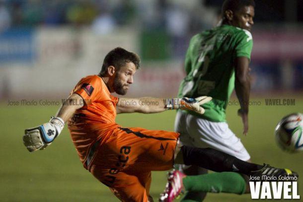 Dani Jiménez ha salvado a la SD Huesca en más de un partido.