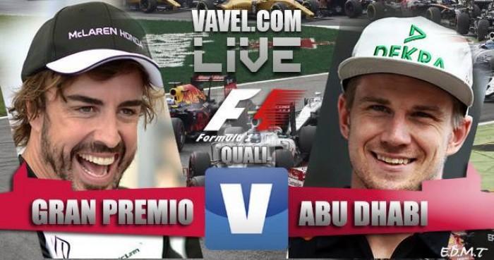 Lewis Hamilton consigue la pole en la noche de Abu Dhabi