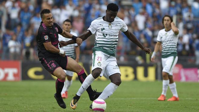 Final del encuentro entre Santos Laguna y Querétaro (2-1)