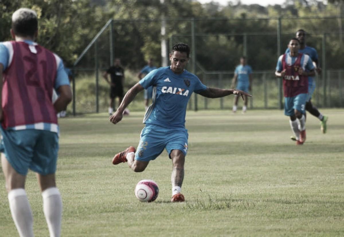 Everton Felipe é 100% reintegrado ao elenco do Sport