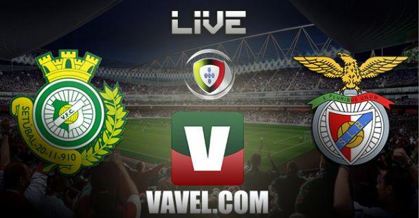 Vitória de Setúbal vs Benfica en vivo y en directo online