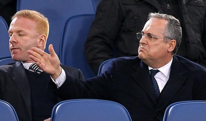 Lazio afasta possibilidade de venda do clube