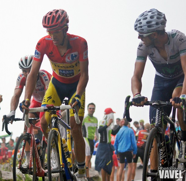 Lagos de Covadonga, posible final de la Vuelta