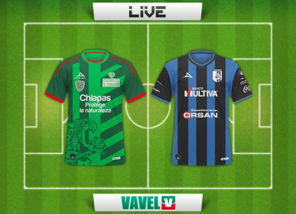 Resultado Chiapas - Quéretaro en Liga MX 2014 (2-1)