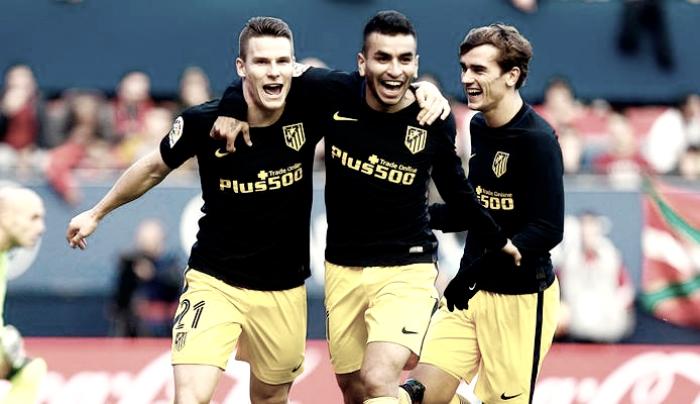 Atlético de Madrid bate Osasuna e volta a vencer no Campeonato Espanhol