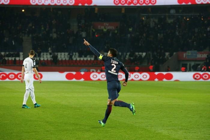 Ligue 1, Thiago Silva e Cavani trascinano il PSG alla vittoria contro l'Angers (2-0)