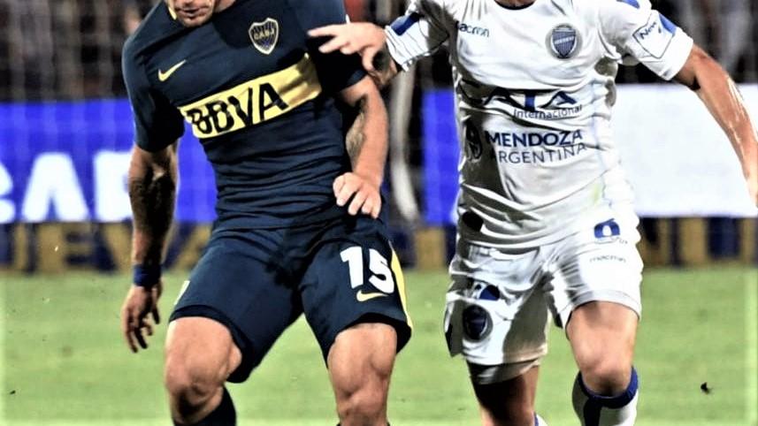 Historial entre Godoy Cruz y Boca Juniors