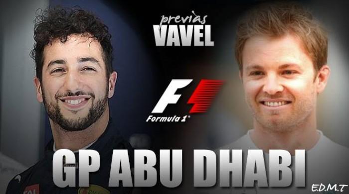 Descubre el Gran Premio de Abu Dhabi de Fórmula 1 2016