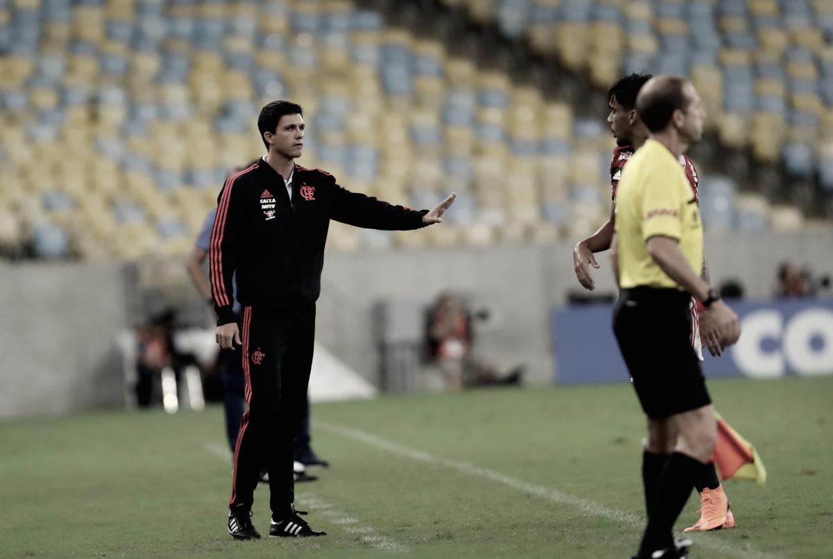 """Barbieri analisa empate pela Libertadores: """"Demos o gol e a equipe se perdeu depois"""""""