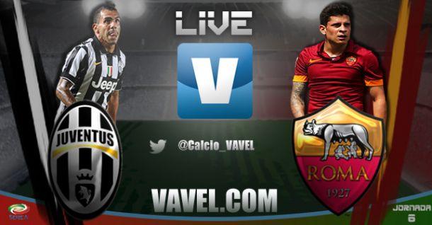Juventus vs Roma en vivo y en directo online