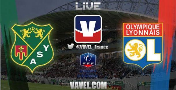 Live Yzeure - Lyon, le match en direct