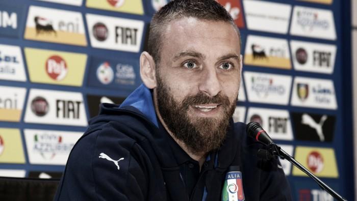 """De Rossi defende Thiago Motta como camisa 10 da Itália: """"Merece pela parte técnica"""""""