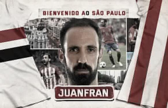 São Paulo oficializa contratação de Juanfran, ex-Atlético de Madrid