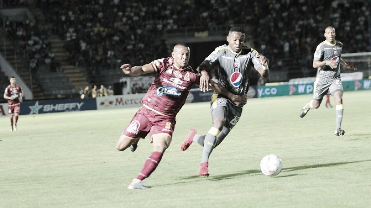 Deportes Tolima sacó ventaja en la ida ante Independiente Medellín